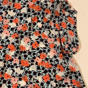Pleione Tops - Pleione Floral Blouse Women Size Medium